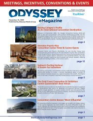 meetings, incentives, conventions & events - Odyssey Media Group