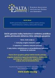 FINAL EALTA poster 28 languages cmyk blue and ... - ealta - EU.org