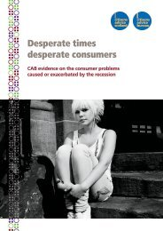 Desperate times, desperate consumers [ 0.91 MB] - Citizens Advice