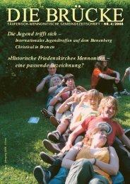 Historische Friedenskirche - Arbeitsgemeinschaft Mennonitischer ...
