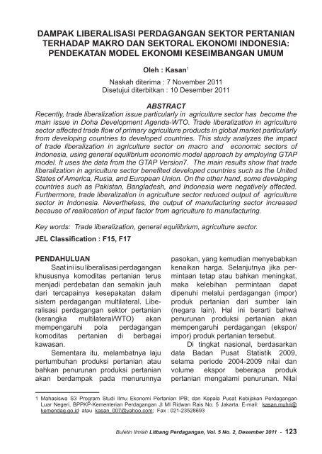 Dukung Prioritas Nasional, Kementerian Perdagangan Tetapkan Dua Kebijakan Utama Dalam RKP