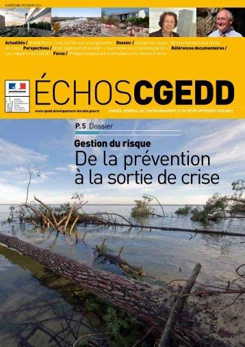 Les Echos CGEDD n° 65