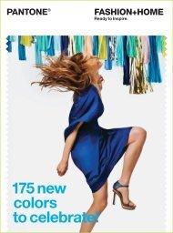 Pantone Fashion & Home 175 New Colors - Hyatt's