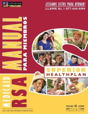 servicios especiales - Superior HealthPlan