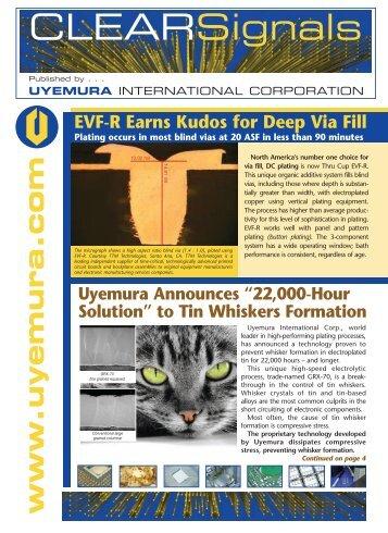 Uyemura PCB Newsletter - Uyemura International Corp.