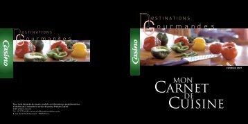 carnet Cuisine - Groupe Casino