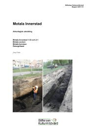 Stiftelsen Kulturmiljövård Rapport 2011:51