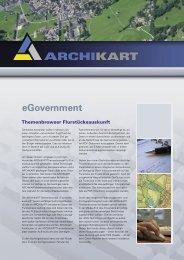 Themenbrowser Flurstücke - ARCHIKART