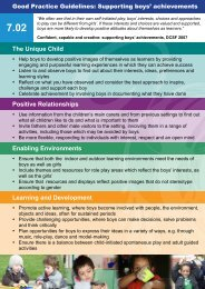 7.02 Good Practice Guidelines: Supporting boys' achievement