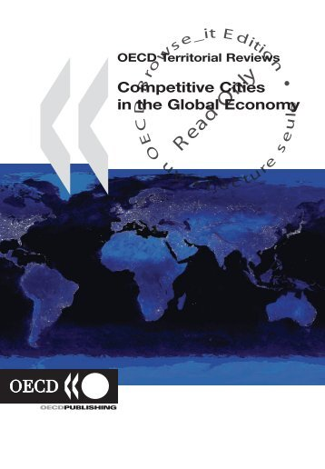 OECD Territorial Reviews Competitive Cities in the Global Economy