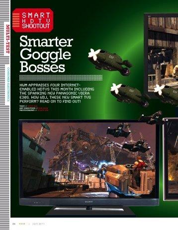 smarter Goggle Bosses