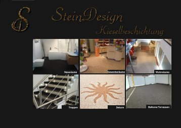 Produktkatalog Steinteppiche