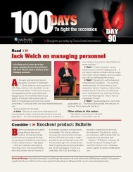 Jack Welch on managing personnel Read