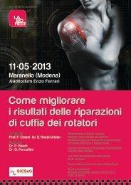 Programma del convegno - Azienda USL di Modena