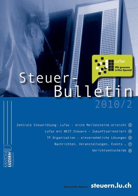 1.6MB - Steuern Luzern - Kanton Luzern