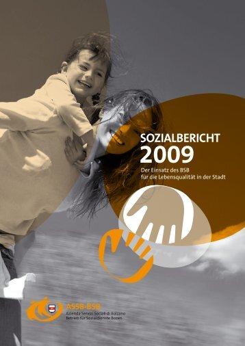 Sozialbericht 2009 - Betrieb für Sozialdienste Bozen