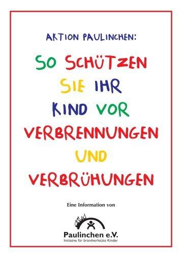 so schützen sie ihr kind vor verbrennungen und ... - Feuerwehr Mainz
