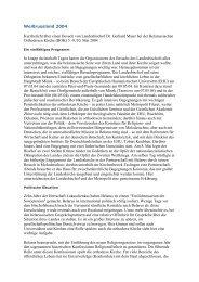 Weißrussland 2004 Kurzbericht über einen Besuch von ...