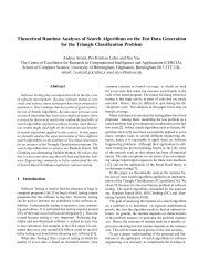Theoretical Runtime Analyses of Search Algorithms on the ... - Cercia