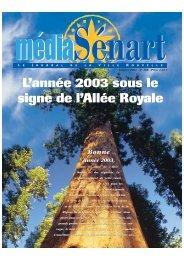 Média Sénart 188 - Janvier 2003 - San de Sénart