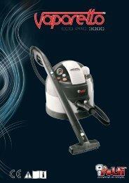 vaporetto eco pro 3000 - polti steam irons