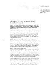 Neuigkeiten von Inoutic/Deceuninck auf der fensterbau/frontale 2012
