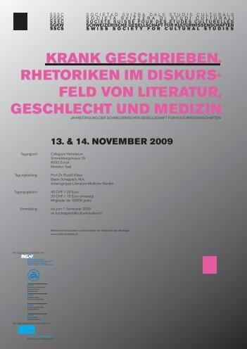 siehe PDF - Schweizerische Gesellschaft für Kulturwissenschaften ...