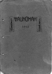 1916 Yearbook - Washougal School District!