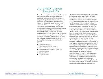 3.0 URBAN DESIGN EVALUATION - City of Burlington