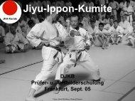 Jiyu-Ippon-Kumite - Shotokan Karate Dojo Obertshausen Hausen