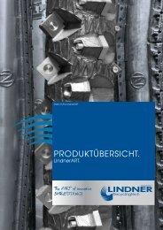 PRODUKTÜBERSICHT. - Lindner reSource GmbH