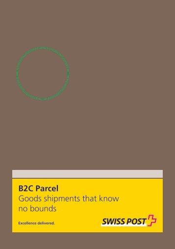 B2C Parcel, Goods shipments that know