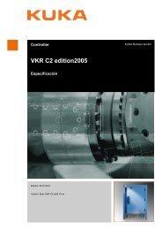 VKR C2 edition2005 - KUKA Robotics