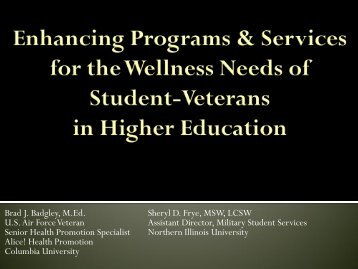 Download presentation (.pdf format) - American College Health ...