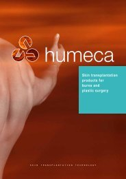 General company brochure with info of all products - Humeca