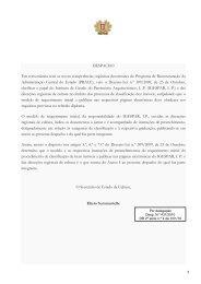 Formulário Instrução do Processo de Classificação
