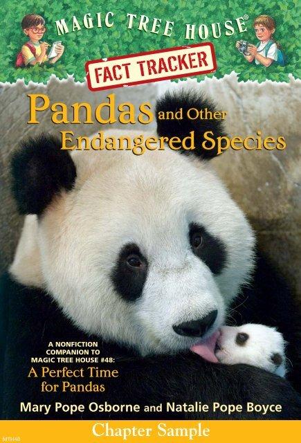 Pandas - Magic Tree House
