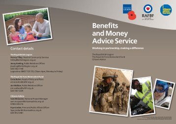 Benefits and Money Advice Service - Citizens Advice