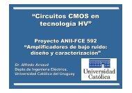"""""""Circuitos CMOS en tecnología HV"""" - Departamento de Ingeniería ..."""