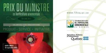 Dépliant de présentation 2013 - Fédération interdisciplinaire de l ...