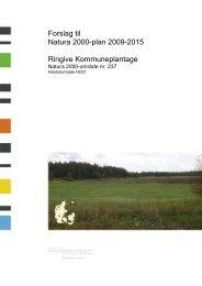 Bilag 2 - Opsummering af Natura 2000-planen og ... - Naturstyrelsen