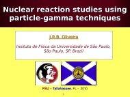 E - Departamento de Física Nuclear - USP