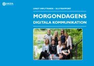 Morgondagens digitala kommunikation 2013 - Nacka kommun