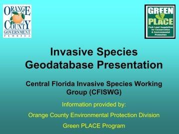 Parcel 105 Community Meeting April 2008 - Florida Invasive ...