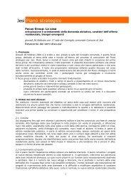Resoconto (.pdf) - Comune di Jesi