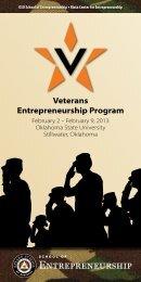 Veterans Entrepreneurship Program - School of Entrepreneurship ...