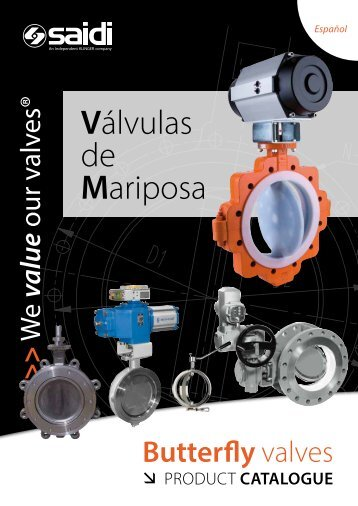 Válvulas de mariposa (ES) - 2012 - SAIDI