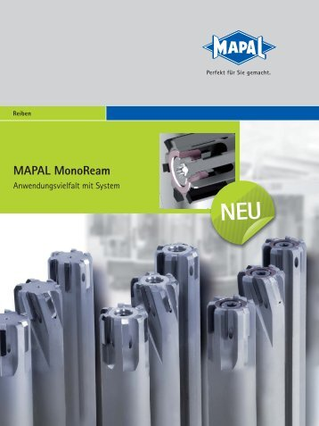 MAPAL MonoReam - MAPAL Dr. Kress KG