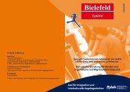 Amt für Integration und interkulturelle Angelegenheiten - RAA Bielefeld