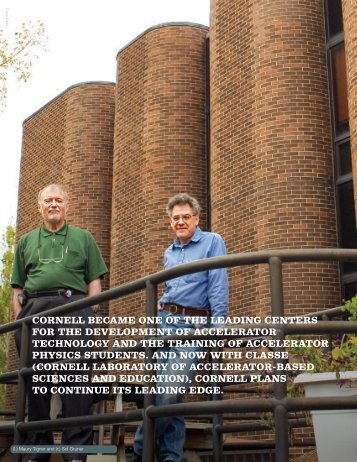 cornell became one of the leading centers for - Cornell High Energy ...